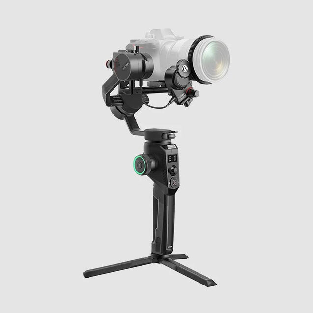 MOZA AirCross 2 Professional Camera Stabilizer beyond your imagination white color with professional kit side