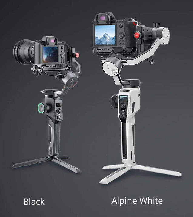 MOZA AirCross 2 Professional Camera Stabilizer beyond your imagination black and white colors