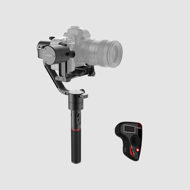 MOZA Air lightweight handheld gimbal for all mirrorless cameras and DSLRs 360 degree rotation for an incredible perspective with thumb controller