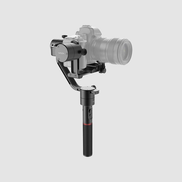 MOZA Air lightweight handheld gimbal for all mirrorless cameras and DSLRs design side view