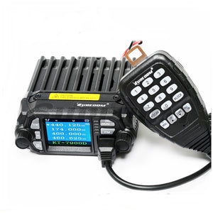SURECOM KT-7900D color display dual band mini mobile radio - GadgetiCloud