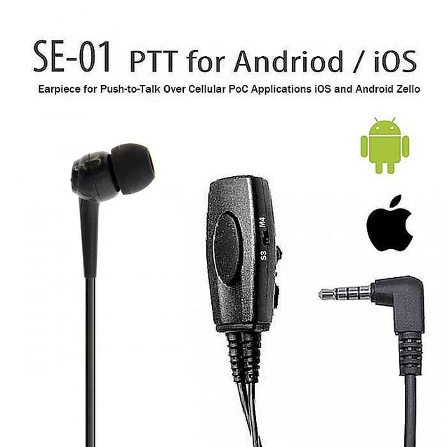 Zello ptt push to talk earphone for Android iOS overview