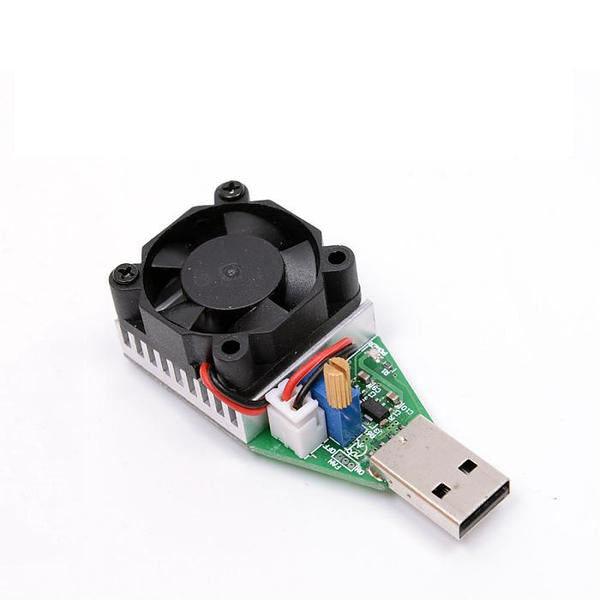 USB Interface Discharge battery test capacity fan adjustable current 15w - GadgetiCloud