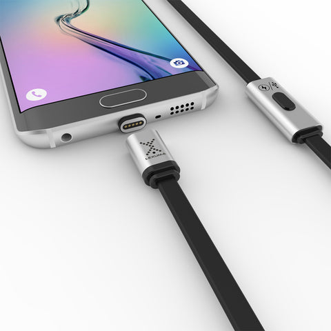 Lexuma XMAG magnetic charging cable for android