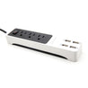 Lexuma XStrip 3-Gang US Type 15A Socket Mini USB Power Strip with 4 USB Ports - GadgetiCloud