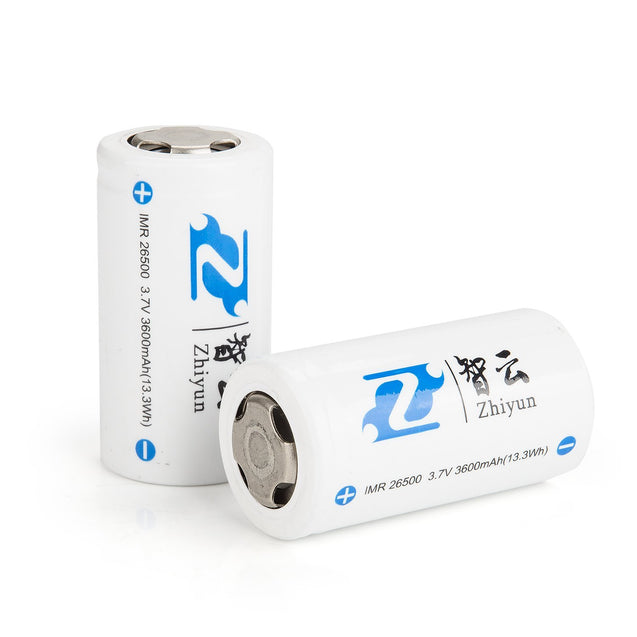 ZHIYUN Li-ion 26500MP Battery (2pcs) - GadgetiCloud
