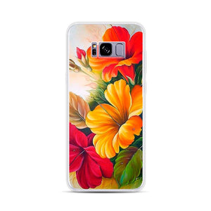 Personalized Case for Android - Hibiscus - GadgetiCloud