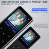 "Portable Bluetooth MP3 Player with 2.4"" Large Screen - GadgetiCloud"