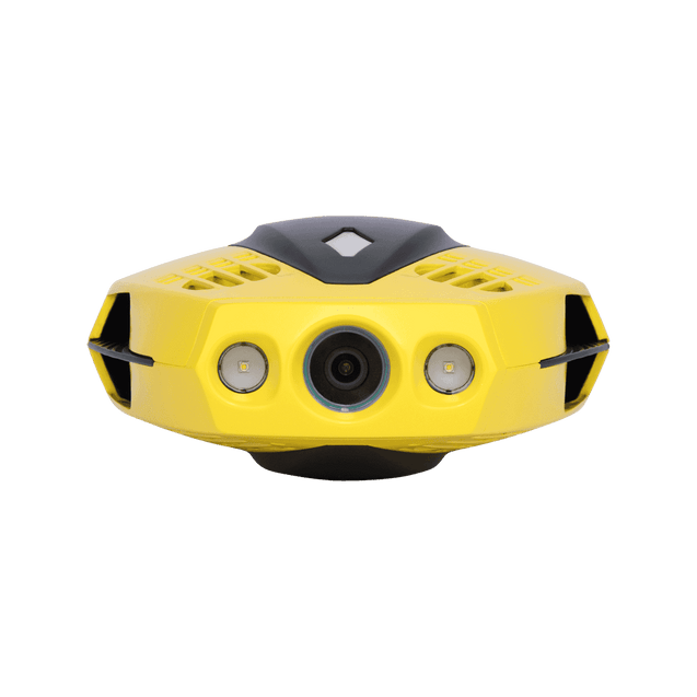 chasing dory underwater drone submarine full hd camera buoy front view