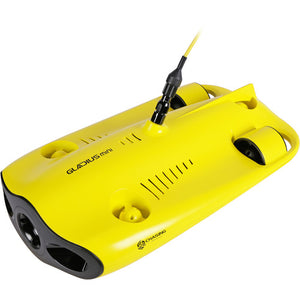 chasing gadgeticloud gladius mini underwater drone submarine 4k camera front side view