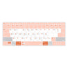 MacBook Keyboard Cover - Light Pink - GadgetiCloud