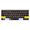 MacBook Keyboard Cover - Cool Black - GadgetiCloud