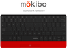 Mokibo 2-in-1 Touchpad-embedded Wireless Keyboard - GadgetiCloud