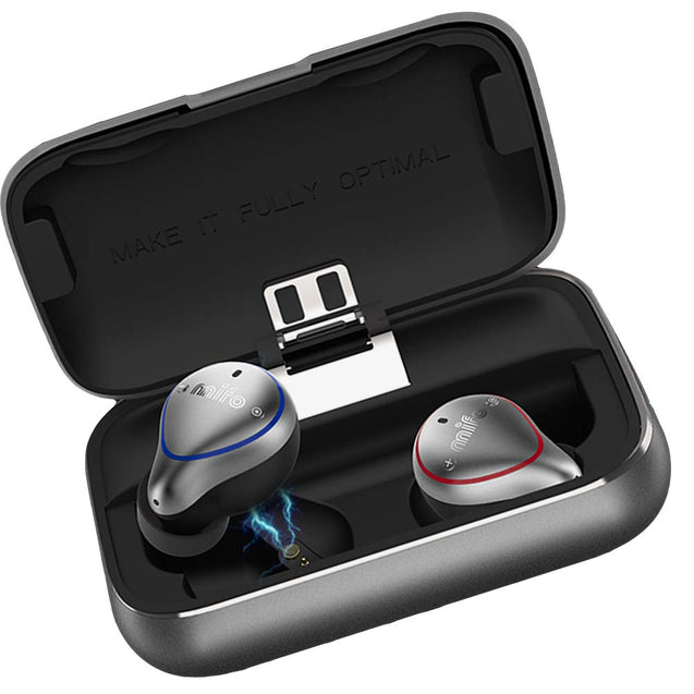 Mifo O5 True Wireless In-Ear Bluetooth IP67 Sports Earphones [With Charging Case] - GadgetiCloud