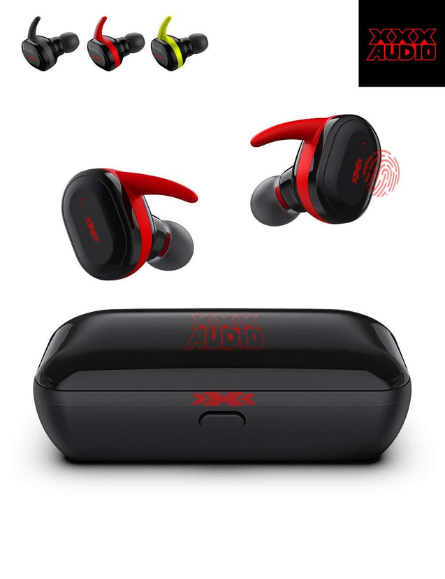 XXX-Audio True Wireless In-Ear Bluetooth Sports Earbuds [With Charging Case] - GadgetiCloud