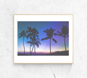 MAUI SUNSET PHOTO PRINT - Ivy And The Fox