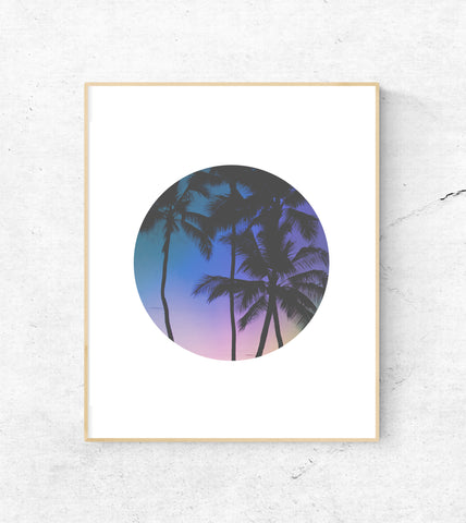 MAUI SUNSET PORTHOLE PRINT - Ivy And The Fox