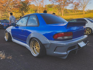 "Wide body kit +50mm Subaru Impreza WRX STI GC GF 1994-2000 ""Body Kit"""