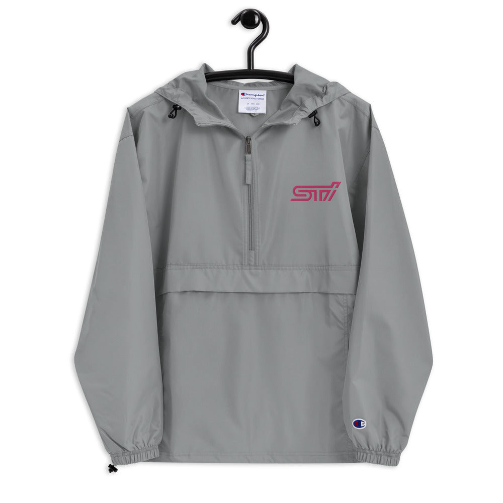 STi Embroidered Champion Packable Jacket