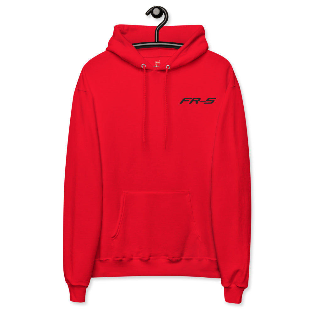 FRS Embroidered fleece hoodie