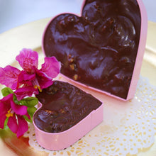 "Chocolate Silk Keepsake Heart - 5"" Keepsake"