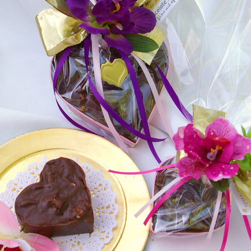 Chocolate Silk Keepsake Heart - 5
