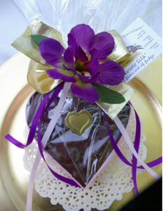"Chocolate Keepsake - 3"" Heart"