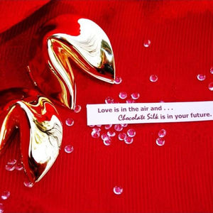 Gold Fortune Cookie Box – with your personal message