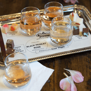 Chocolate Silk Wine Flights