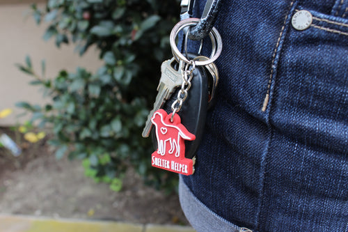 Shelter Helper Keychain