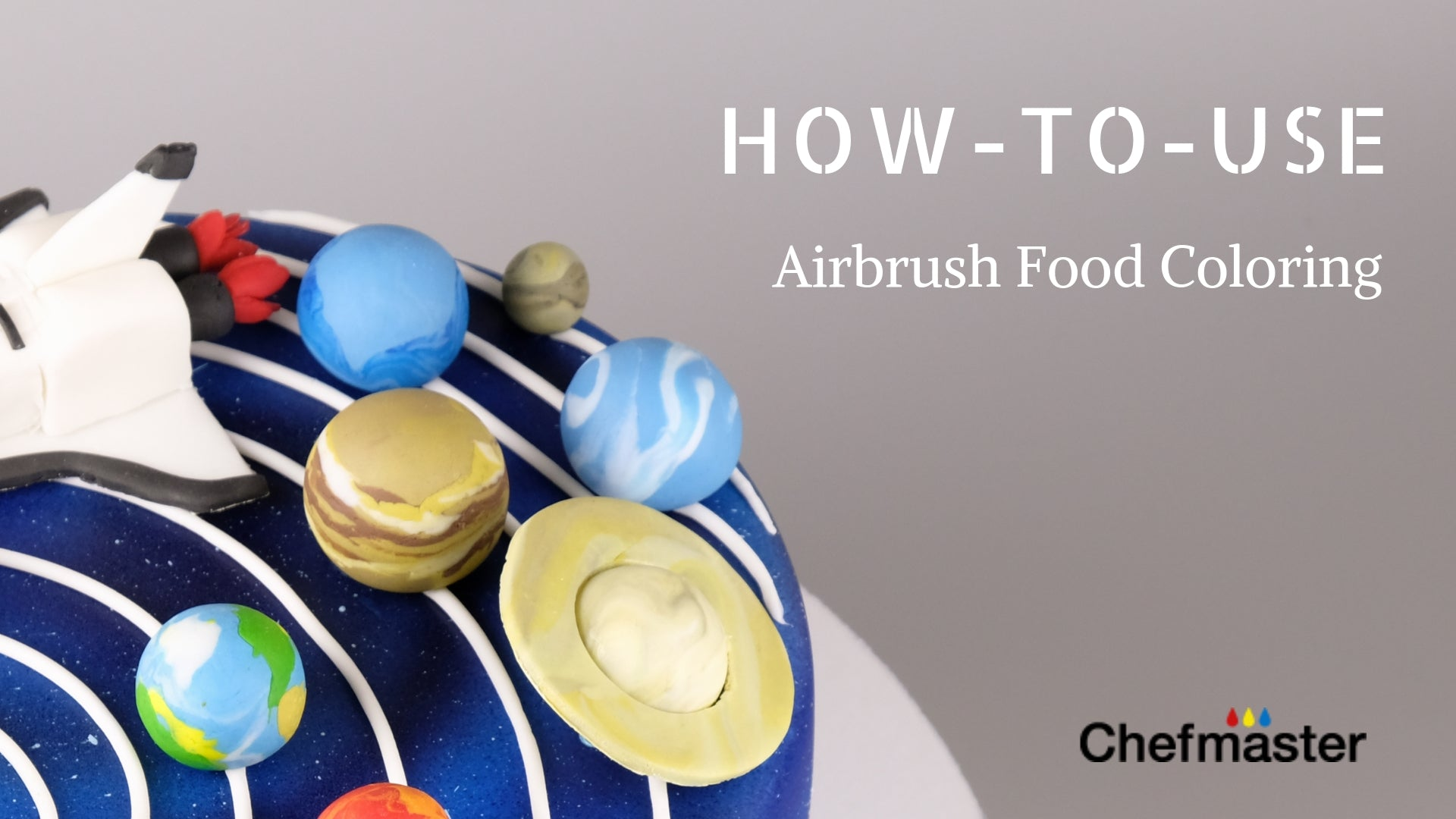 How to use Chefmaster® Airbrush Food Coloring – Chefmaster.com