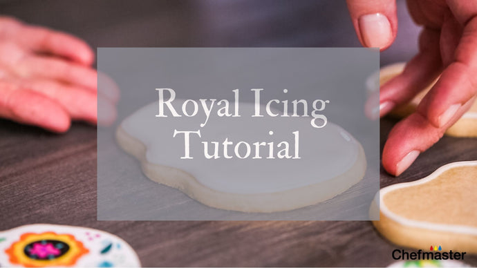Royal Icing Tutorial with Chefmaster Deluxe Meringue Powder
