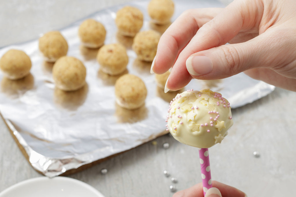 cake pop on a stick