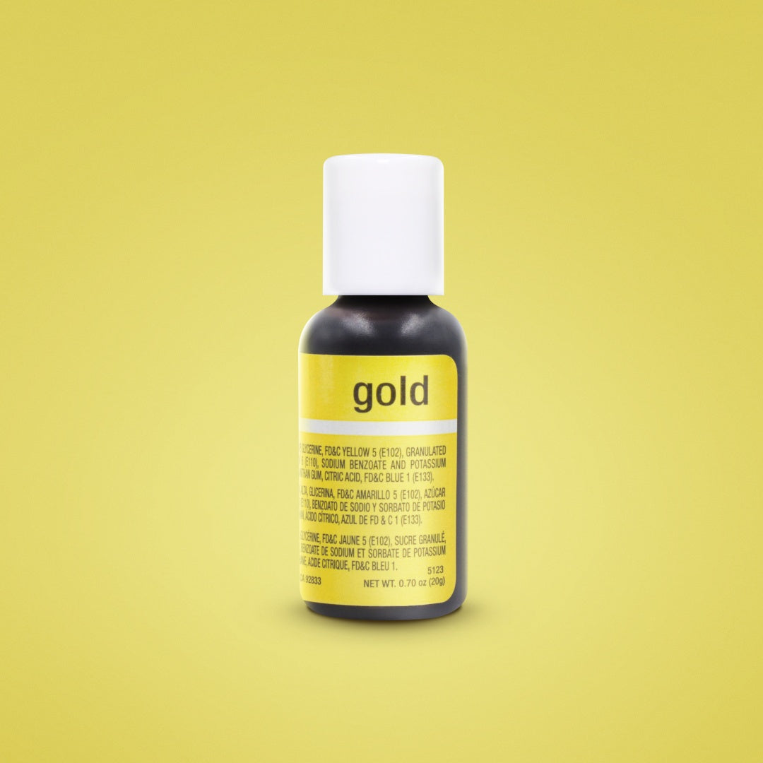 Gold Liqua-Gel Food Coloring 20ml