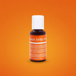 Neon Brite Orange Liqua-Gel Food Coloring 20ml