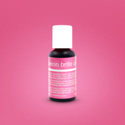 Neon Brite Pink Liqua-Gel Food Coloring 20ml