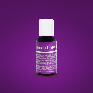 Neon Brite Purple Liqua-Gel Food Coloring 20ml