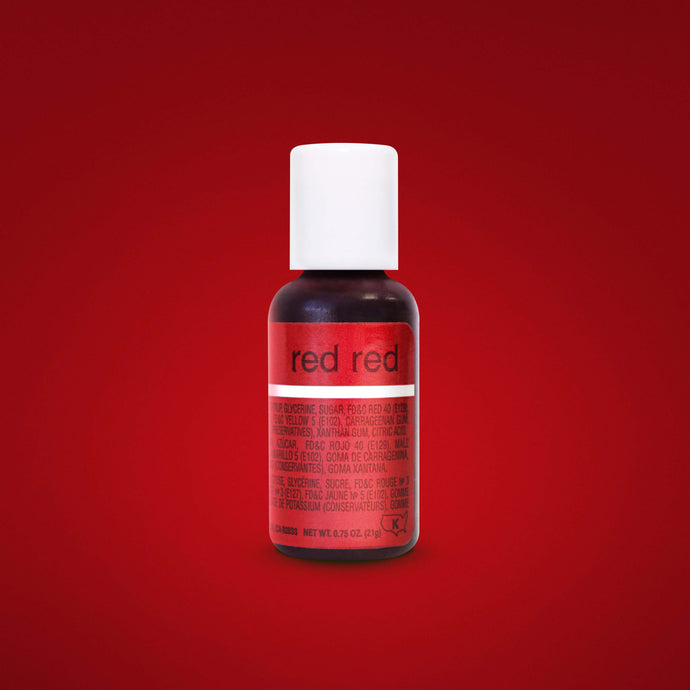 Red Red Liqua-Gel Food Coloring 20ml
