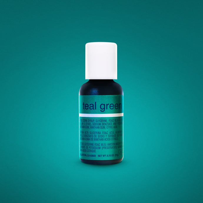 Teal Green Liqua-Gel Food Coloring 20ml