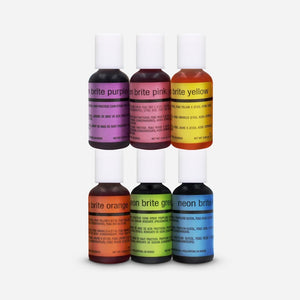 Airbrush Neon 6 Colors Kit 20 ml