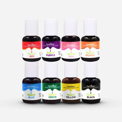 Natural Food Coloring 8 Color Kit