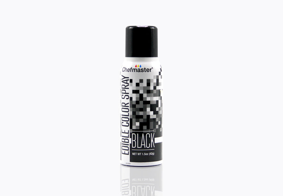 Black Edible Spray Paint 1.5oz