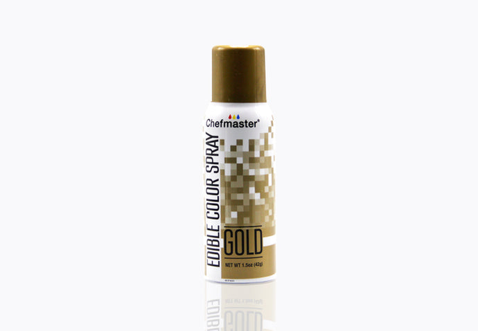 Edible Metallic Gold Spray Paint 1.5oz