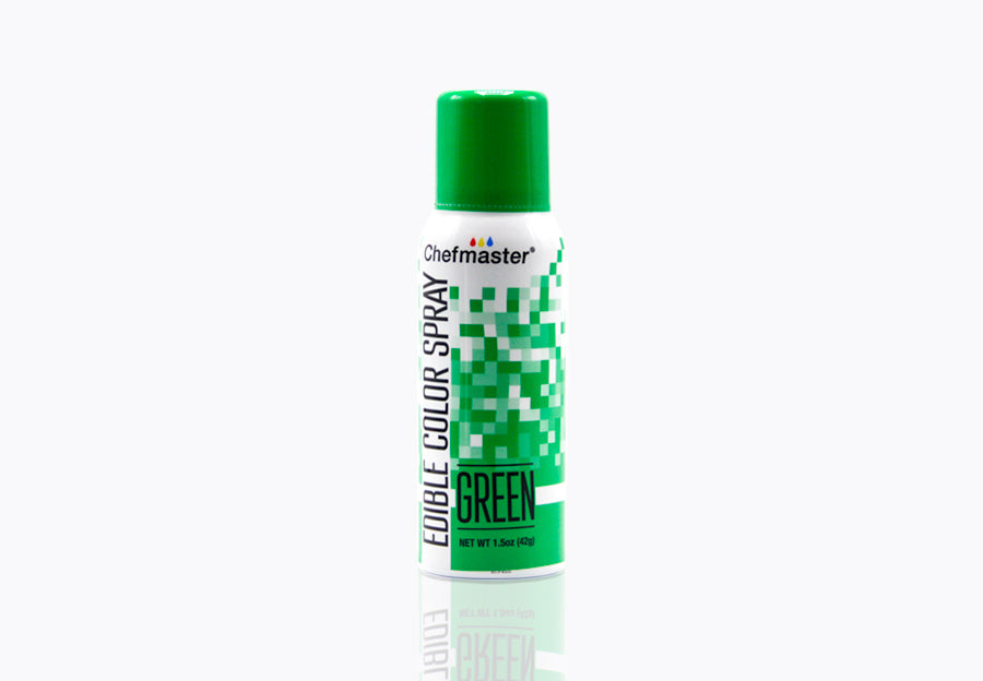 Green Edible Spray Paint 1.5oz