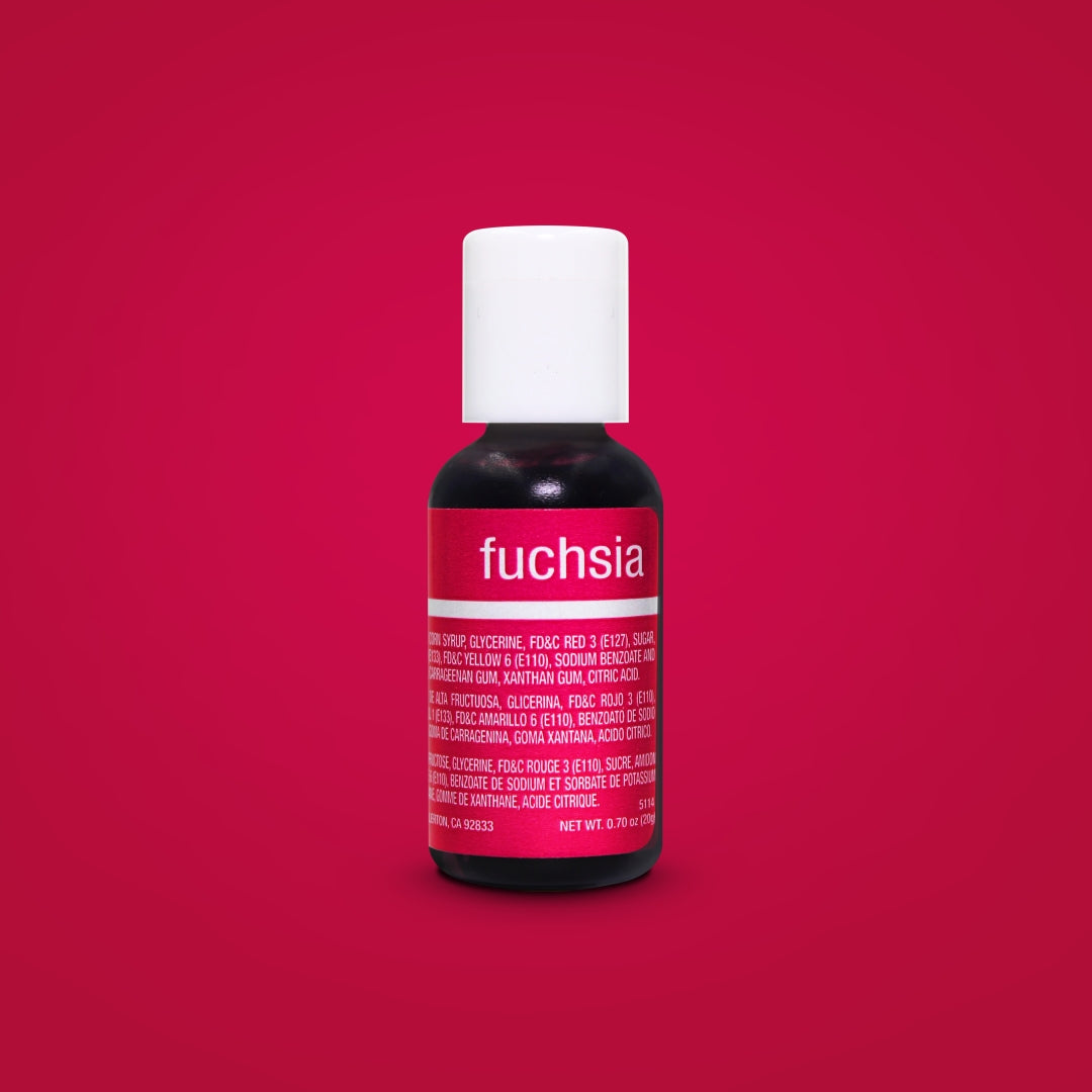 Fuchsia Liqua-Gel Food Coloring 20ml