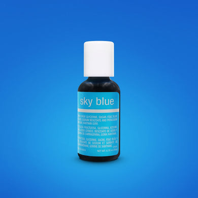 Sky Blue Liqua-Gel Food Coloring 20ml