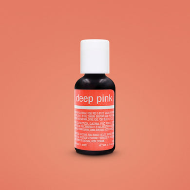 Deep Pink Liqua-Gel Food Coloring 20ml