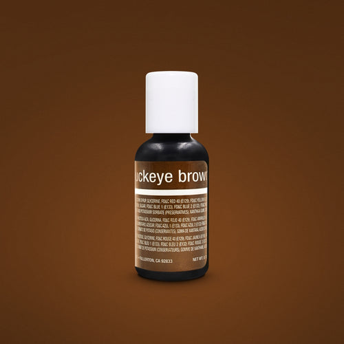 Buckeye Brown Liqua-Gel Food Coloring 20ml