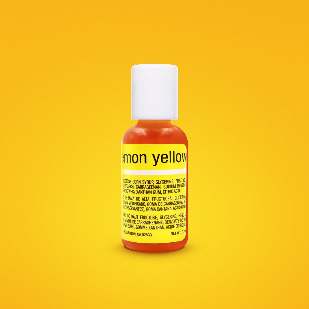 Lemon Yellow Liqua-Gel Food Coloring 20ml