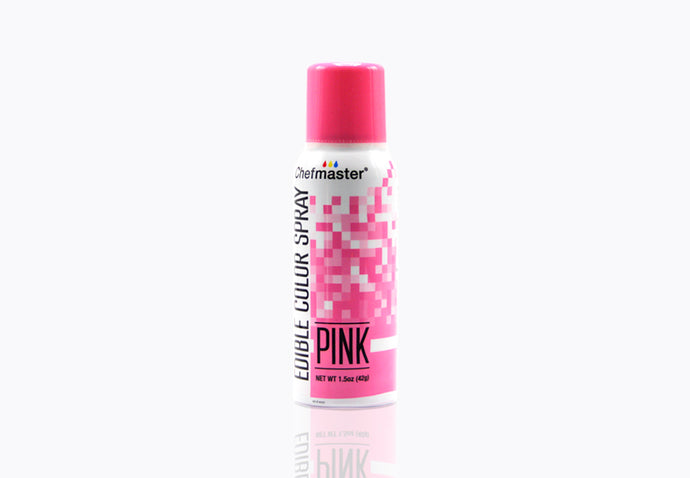Pink Edible Spray Paint 1.5oz